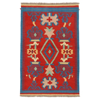 3'2 x 5' Handwoven Afghan Kilim Area Rug