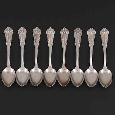 "Wm. Rogers & Son ""America"" Silver Plate Demitasse Spoons"