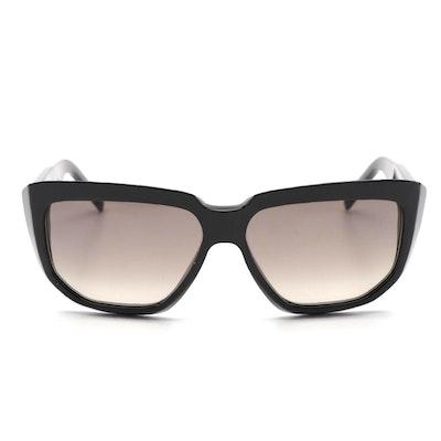 Celine CL400931 01F Black Geometric Sunglasses