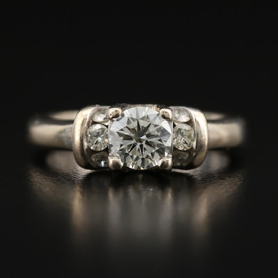 14K 1.08 CTW Diamond Ring