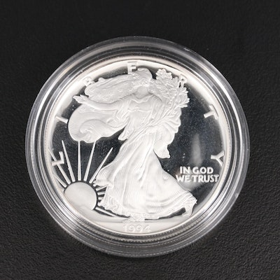 1994-P American Silver Eagle Proof Bullion Coin