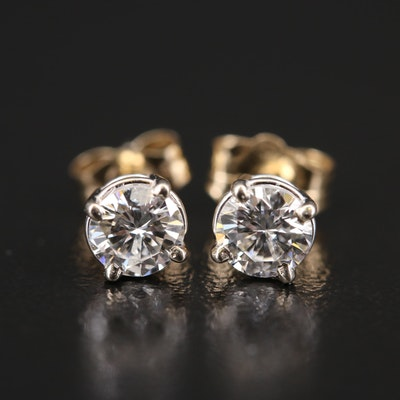 14K 0.40 CTW Diamond Stud Earrings