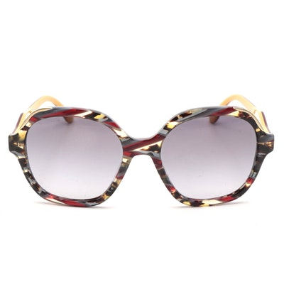 Prada SPR 07G Bordeaux Havana Sunglasses