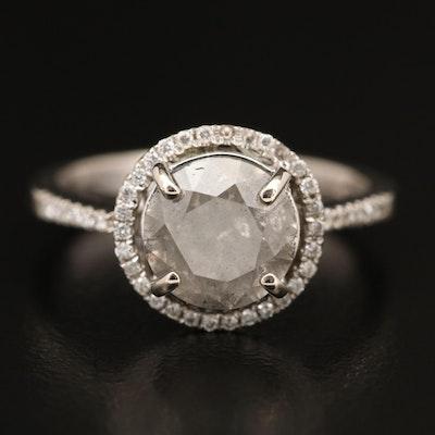 18K 2.34 CTW Diamond Ring