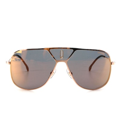 Carrera Lens3s DDBJO Special Edition Aviators with Rose Gold Frames