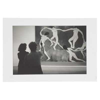 William D. Wade Digital Photograph of Museum Scene , Late 20th Century