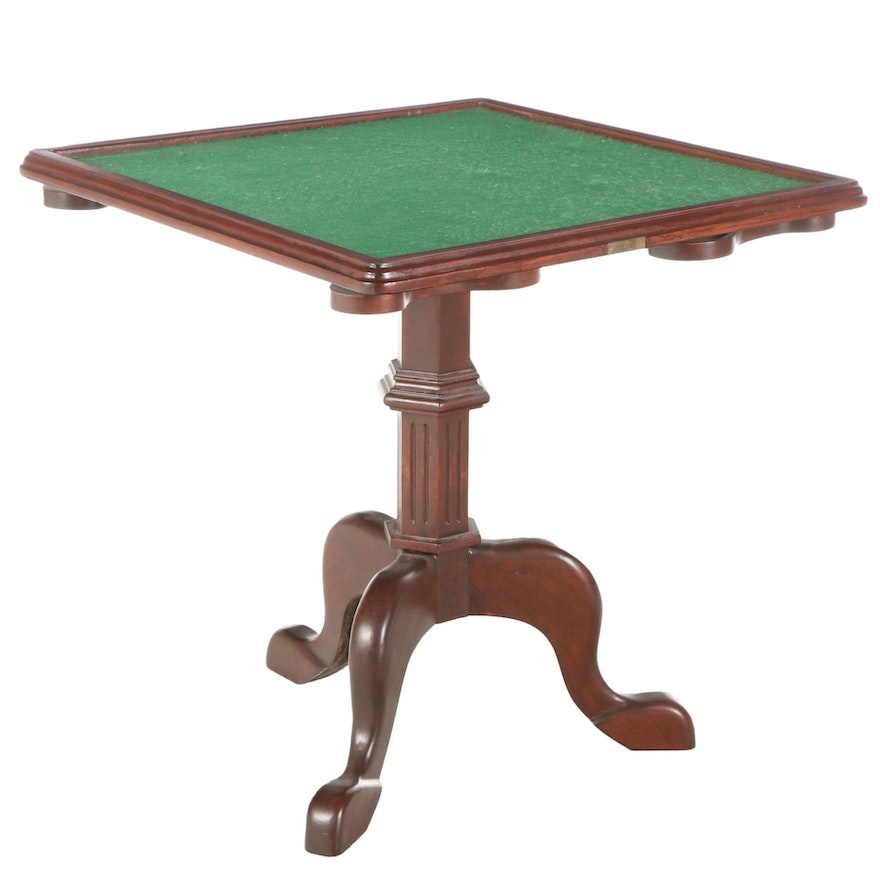 """Motion Picture Prop Smoking Lounge Game Table from """"Titanic"""", Late 20th Century"""