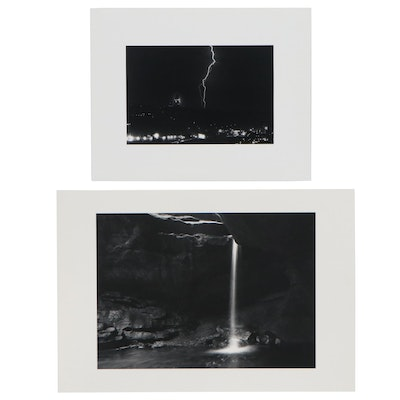 William D. Wade Silver Gelatin Photograph and Digital Photograph
