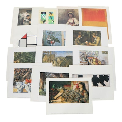 Offset Lithographs after Paul Cézanne and other Prolific Artists