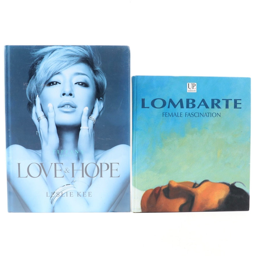 """Signed """"Female Fascination"""" by Ramón Lombarte with Limited Edition """"Love & Hope"""""""