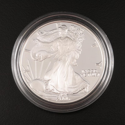 2006-W American Silver Eagle Proof Bullion Coin