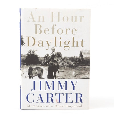 """An Hour Before Daylight"" First Edition, Signed by Jimmy Carter"