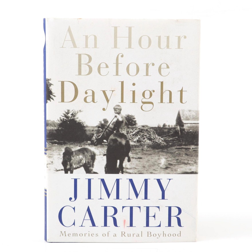 """""""An Hour Before Daylight"""" First Edition, Signed by Jimmy Carter"""