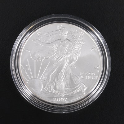 2007-W American Silver Eagle Bullion Coin