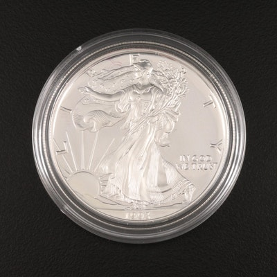 1993-P $1 American Silver Eagle Proof Bullion Coin