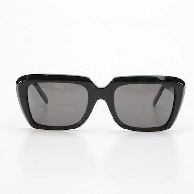 Celine CL400911 01A Black Rectangular Sunglasses