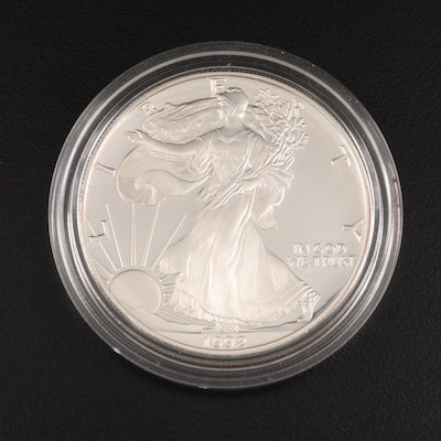 1992-S American Silver Eagle Proof Bullion Coin