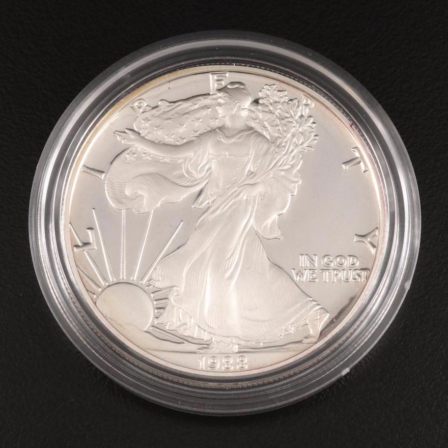 1988-S American Silver Eagle Proof Bullion Coin