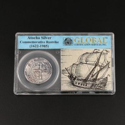 Atocha Silver Commemorative Restrike Coin