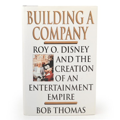 "Signed First Edition ""Building a Company"" by Bob Thomas, 1998"