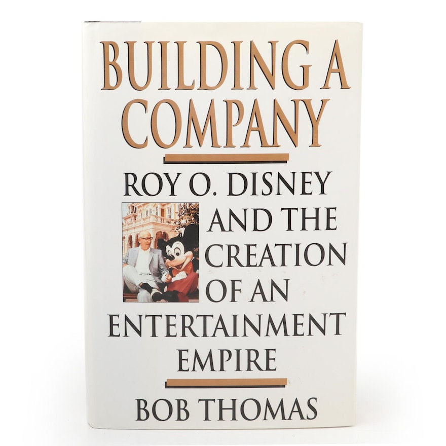 """Signed First Edition """"Building a Company"""" by Bob Thomas, 1998"""