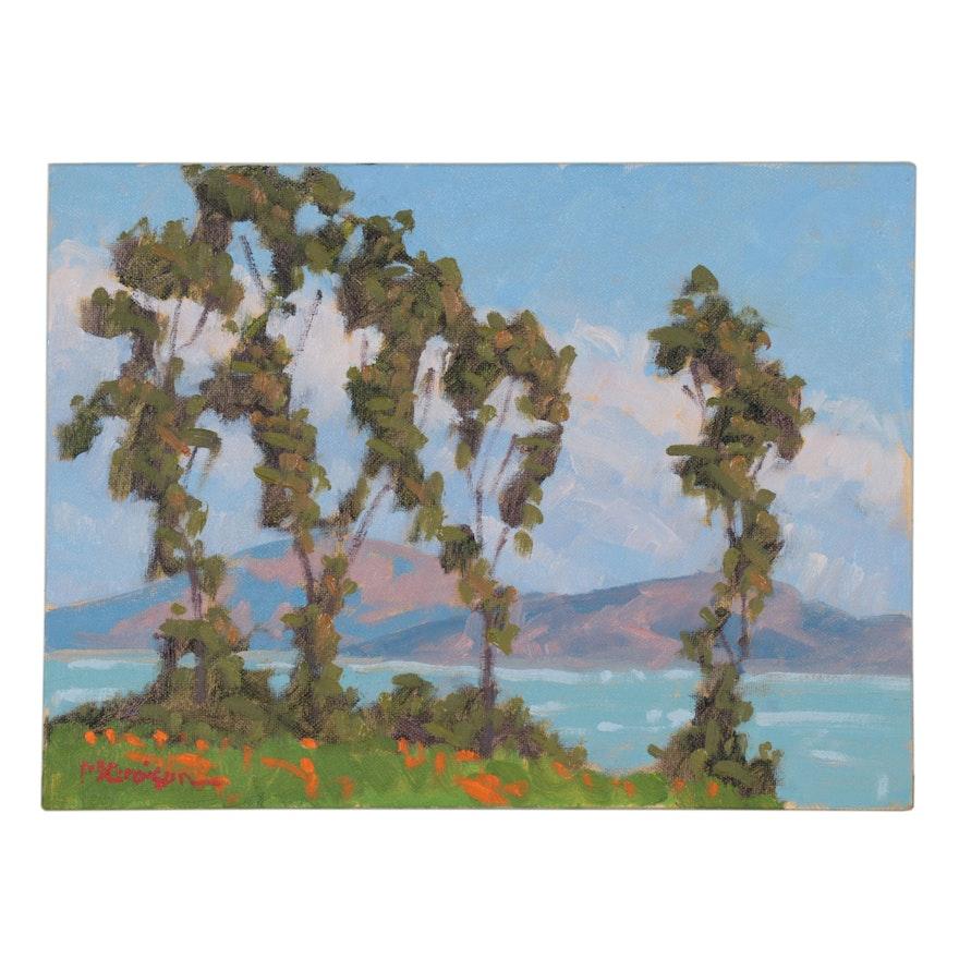"""Marc Graison Oil Painting """"Sentinels,"""" 2021"""