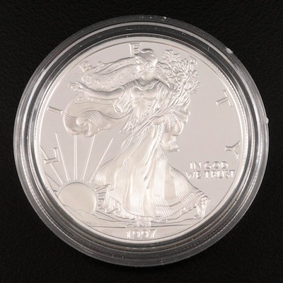 1997-P American Silver Eagle Proof Bullion Coin