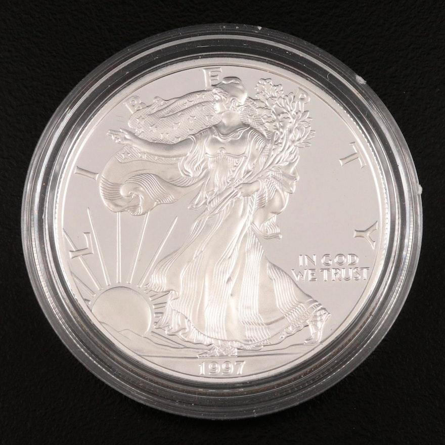 1997-P American Silver Eagle Proof Bullion Coin