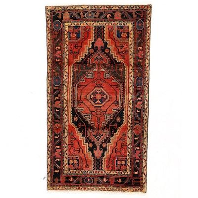 3'3 x 5'10 Hand-Knotted Persian Tuyserkan Hamadan Area Rug