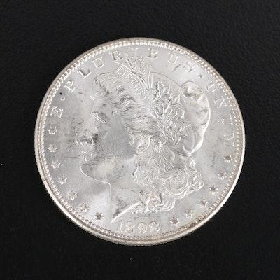 1898-O Uncirculated Morgan Silver Dollar