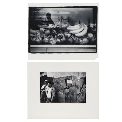 William D. Wade Silver Gelatin & Black and White Photographs of Fruits