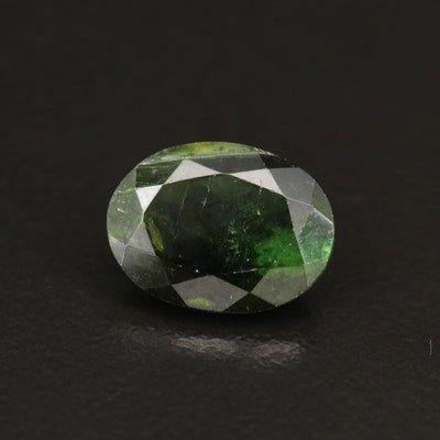 Loose 3.13 CT Oval Faceted Tourmaline
