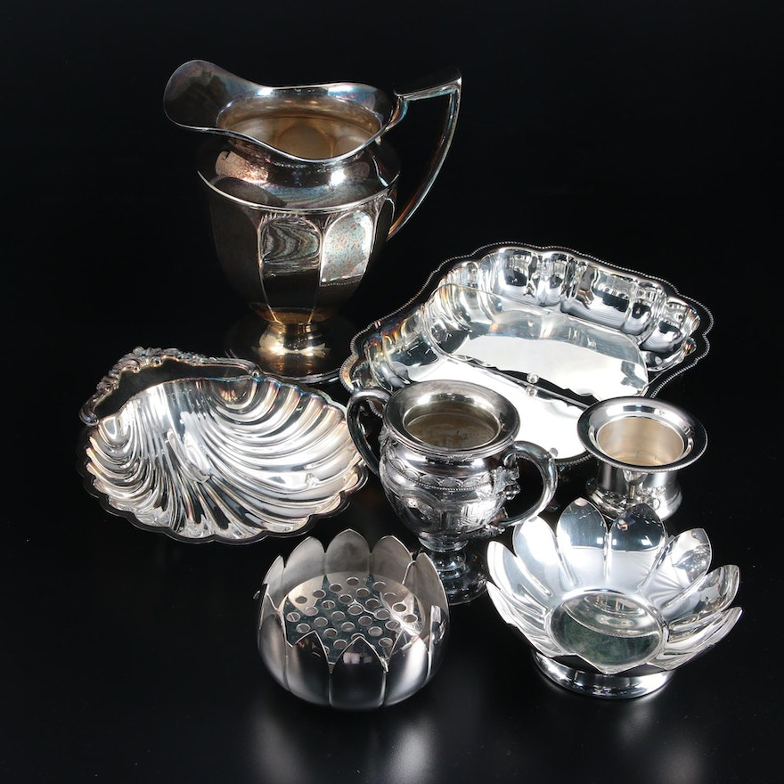 Keystone Silver Co., Rogers & Bro. and Other Silver Plate Serveware