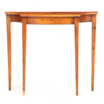 Pine Shop Original Federal Style Pine Console Table