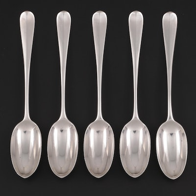 Brewis & Co. of London Tipped Sterling Silver Spoons, 1892