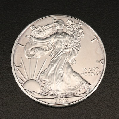 2019 $1 American Silver Eagle Bullion Coin