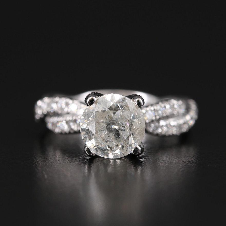 14K 3.06 CTW Diamond Ring
