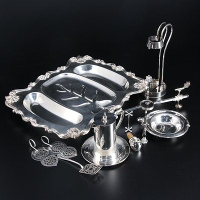 Wallace, International Silver and Other Silver Plate Tableware