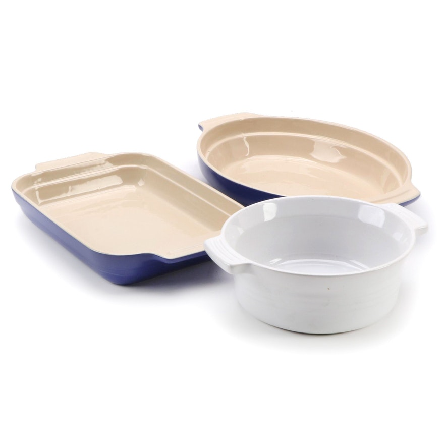 Le Creuset Essentials 2 Quart Rectangular with Other Baking Dishes