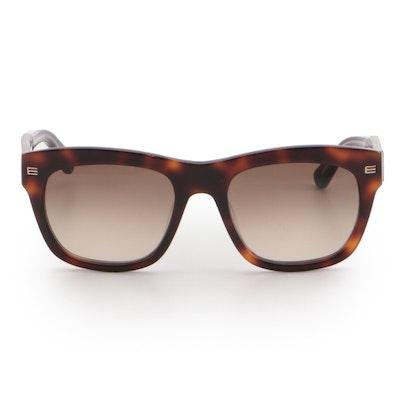 ETRO ET605S Havana Square Sunglasses in Tortoise