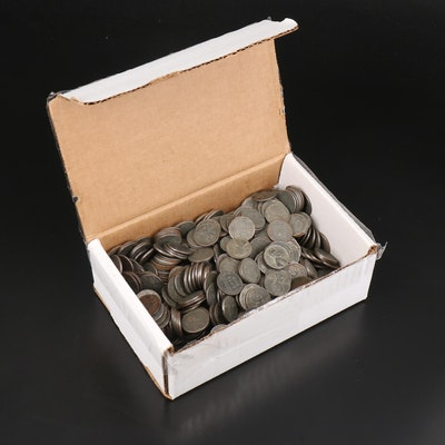 500 Wartime Steel Wheat Reverse Cents