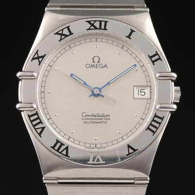 "Circa 1986 Omega ""Constellation"" Automatic Chronometer Wristwatch"