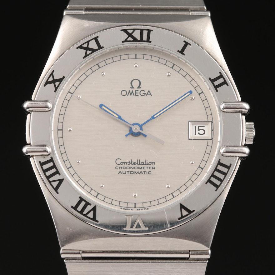 "Circa 1986 Omega ""Constellation"" Automatic Chronometer Wristwatch"