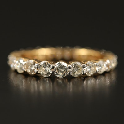 18K 1.65 CTW Diamond Eternity Band