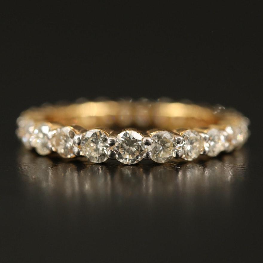 18K 1.65 CTW Diamond Eternity Band