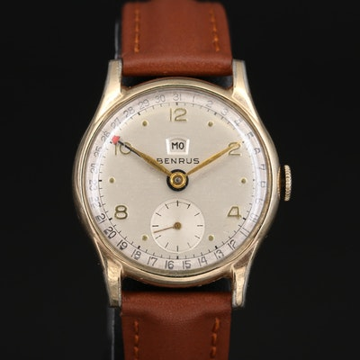 Benrus Pointer Date with Day Wristwatch