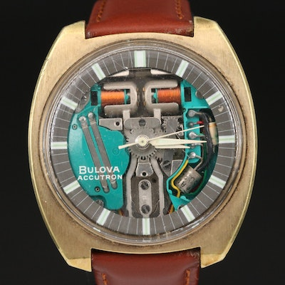 "1963 Bulova ""Accutron Spaceview"" Wristwatch"