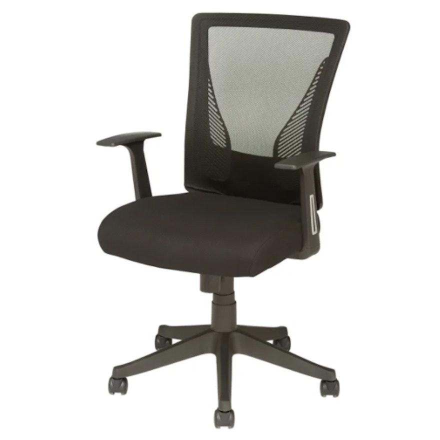 "Brenton Studio ""Radley"" Black Mesh Mid-Back Task Chair"
