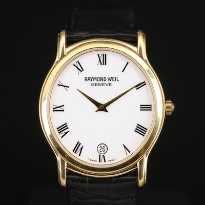 "Raymond Weil ""Tradition"" Wristwatch with Date Window"