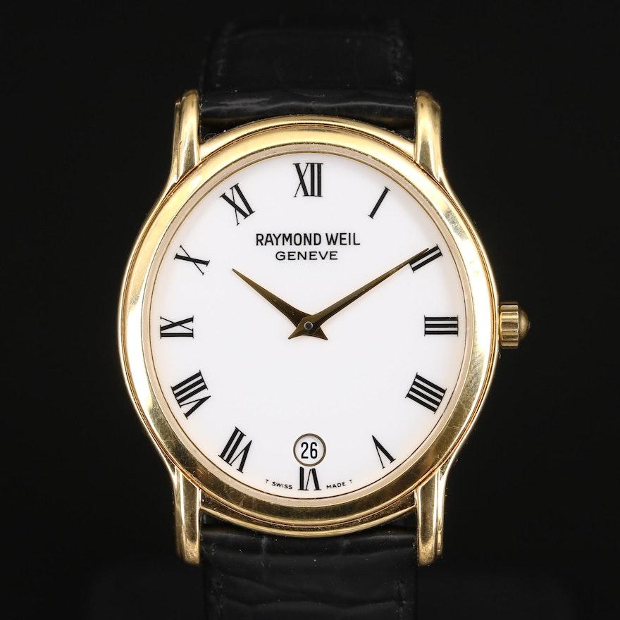 """Raymond Weil """"Tradition"""" Wristwatch with Date Window"""